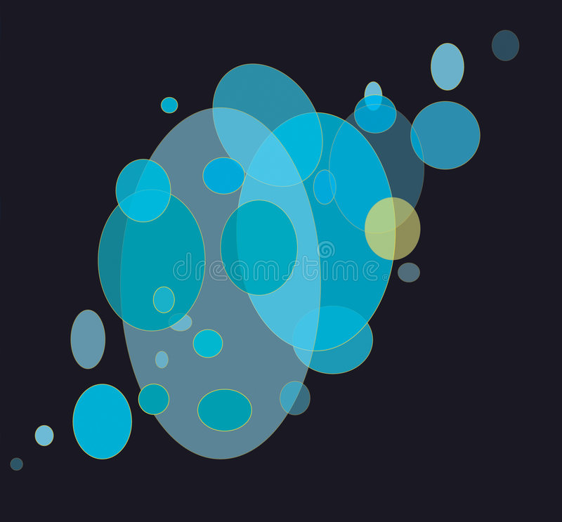 Download Ellipses stock illustration. Image of bubble, large, back - 3326908