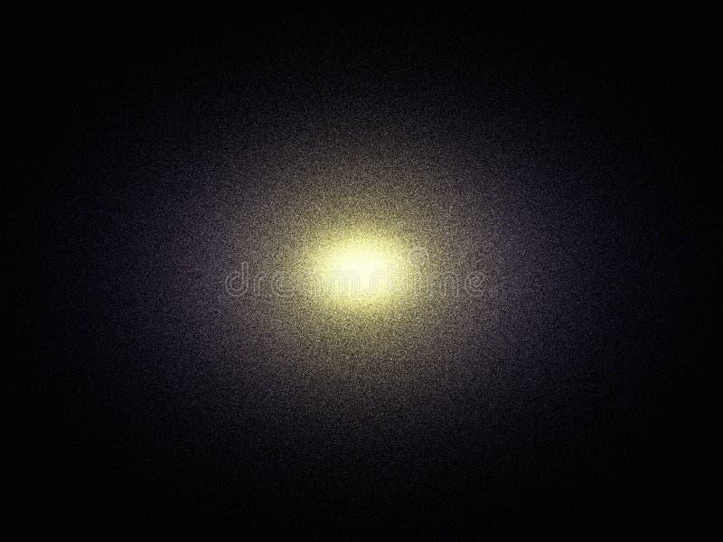 Elliptical galaxy vector illustration
