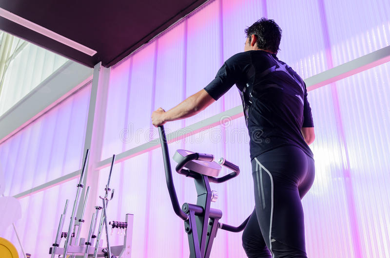 Download Elliptical Gym stock photo. Image of indoors, fitness - 25735764