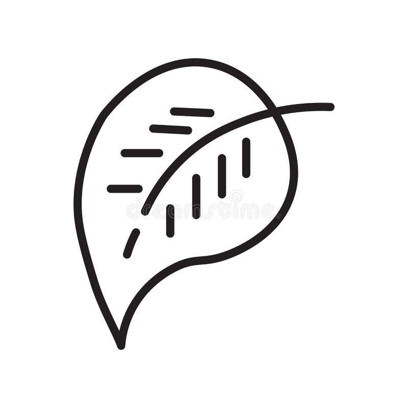 Elliptisch pictogram vectordieteken en symbool op witte backgroun wordt geïsoleerd vector illustratie
