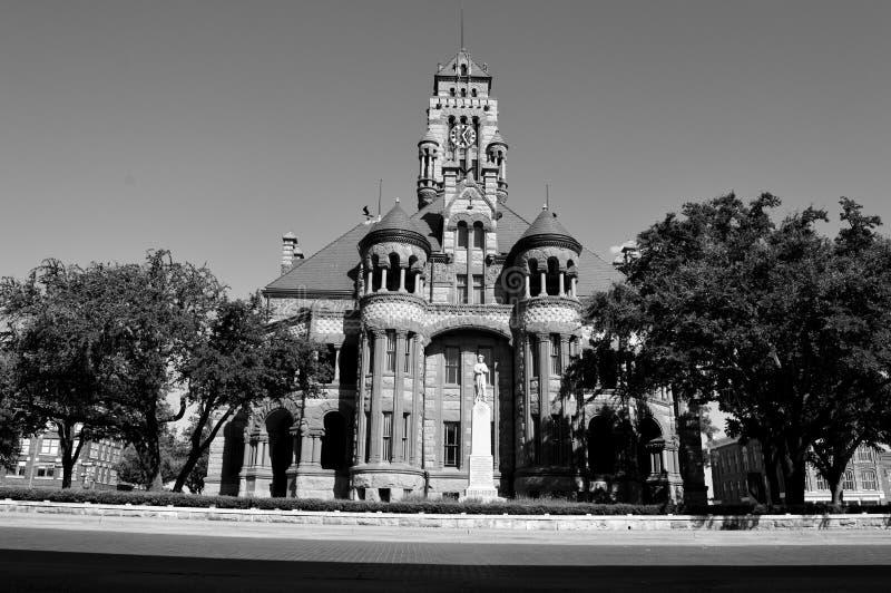 Ellis County Courthouse, Tx stock photo