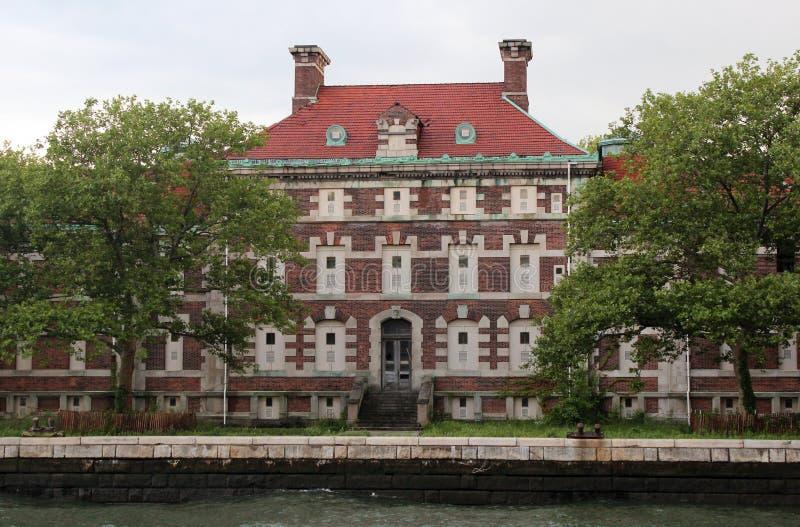Ellis Island lizenzfreie stockbilder