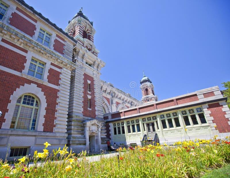 Ellis Island lizenzfreie stockfotos