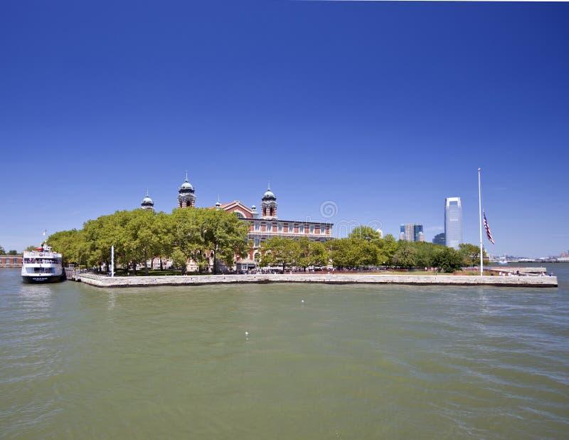 Ellis Island stockfotos