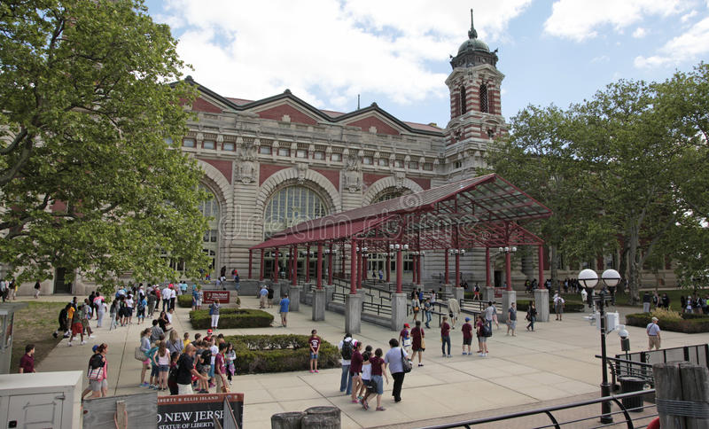 Ellis Island lizenzfreies stockbild