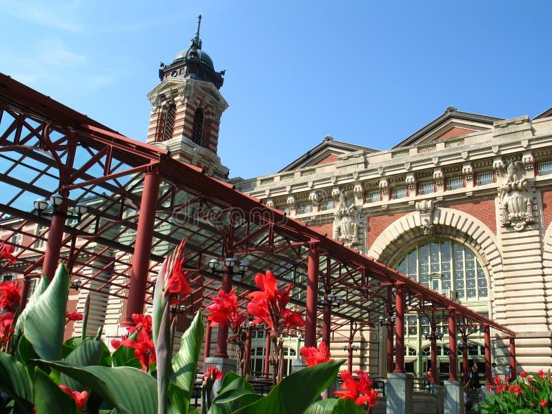 Ellis Island imagem de stock