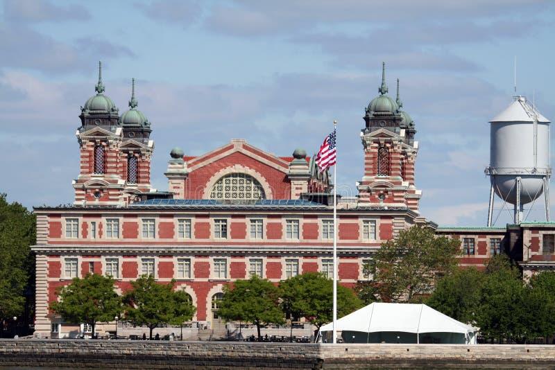 Ellis Island stockbilder