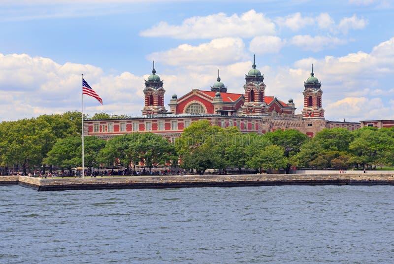 Ellis Island, Etats-Unis, à New York City photos stock
