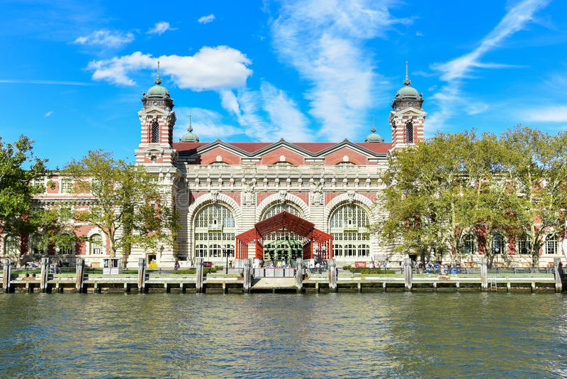 Ellis Island - New York stockfoto