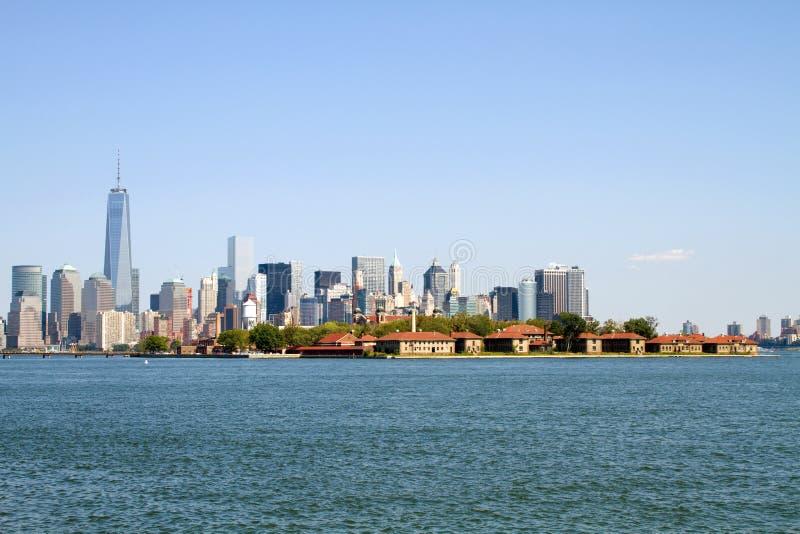 Ellis Island New York City lizenzfreies stockfoto