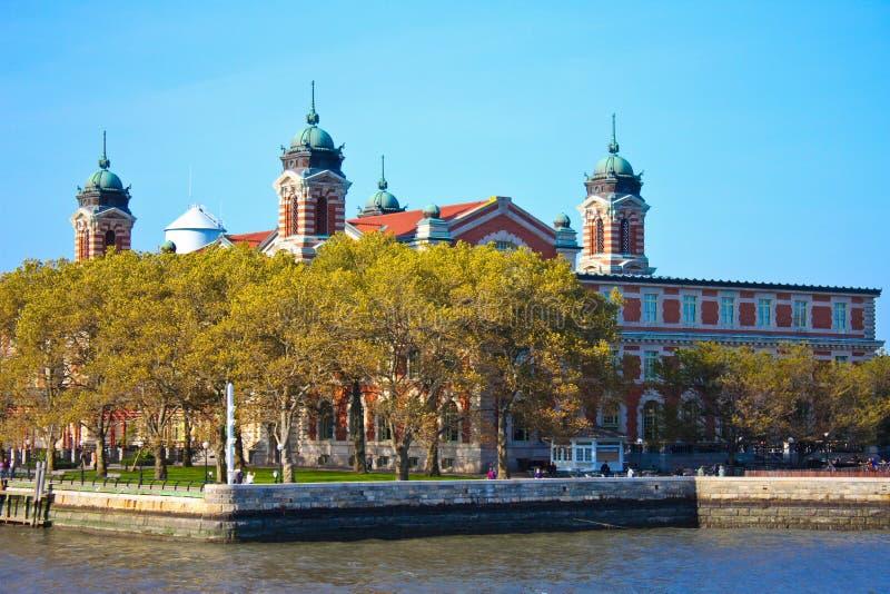Ellis Island, New York, NY stockbild