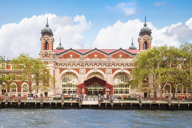 Ellis Island NYC stock photos