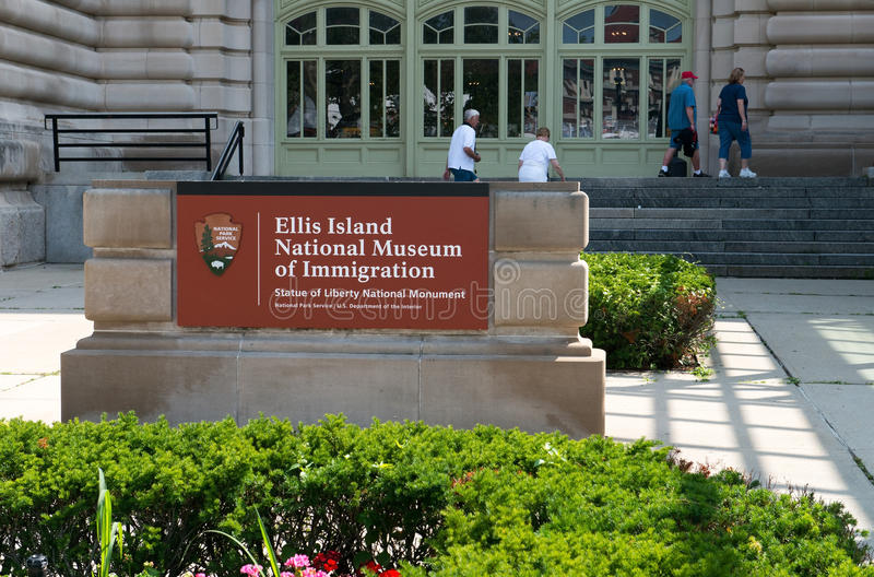 Ellis wyspy Nowy Jork podróż obraz stock