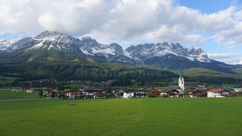 Ellmau, Austria fotografia stock libera da diritti