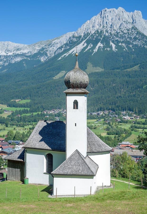 Ellmau, el Tirol, Austria foto de archivo