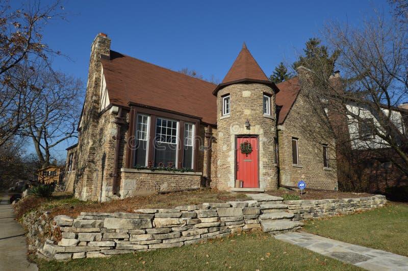 Elmhurst Cottage stockfoto