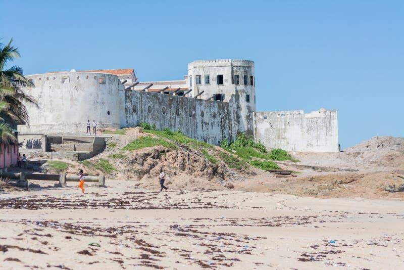 Elmina城堡 库存图片