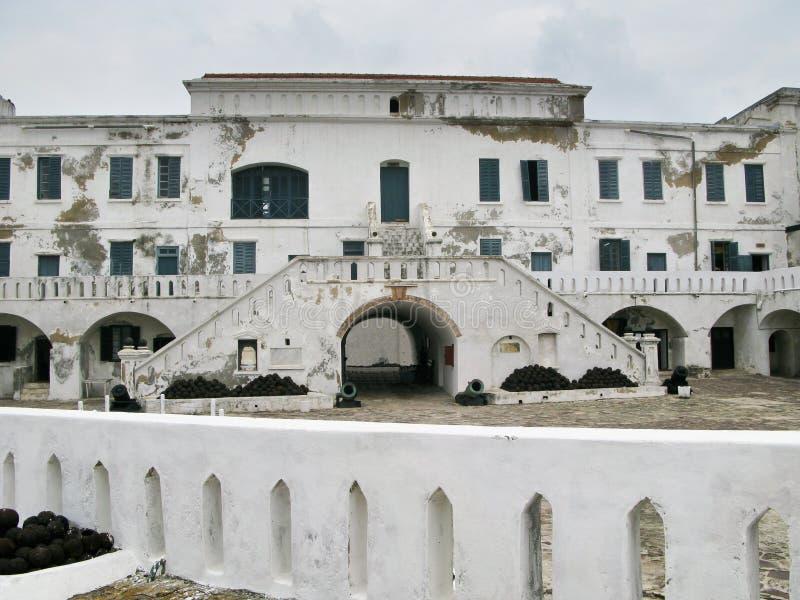 elmina grodowy wejście Ghana zdjęcia royalty free
