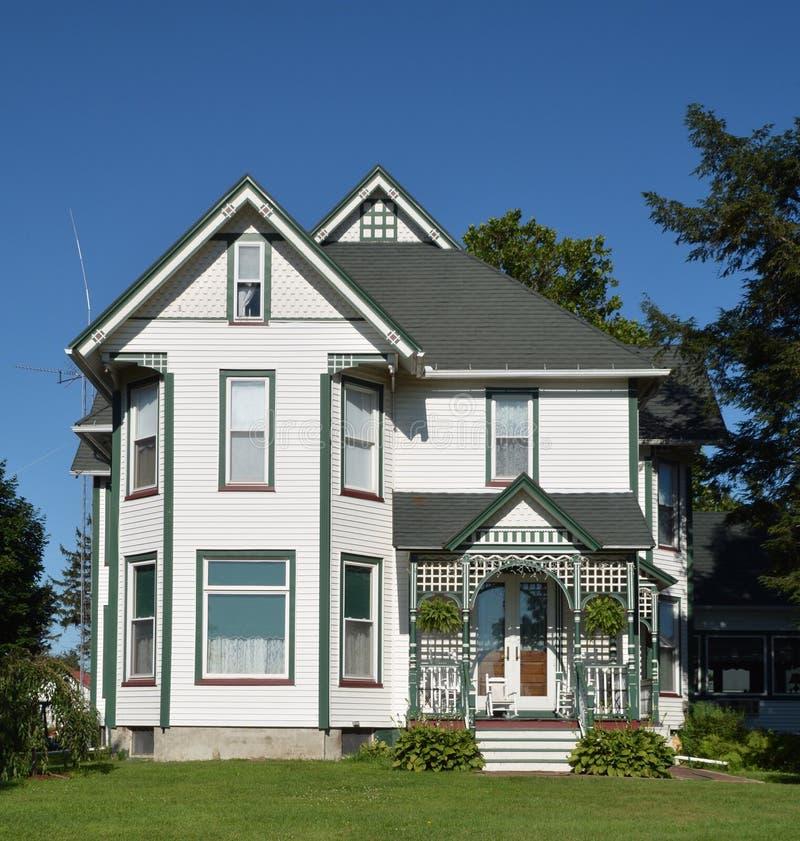 Elmira Victorian House royalty-vrije stock foto