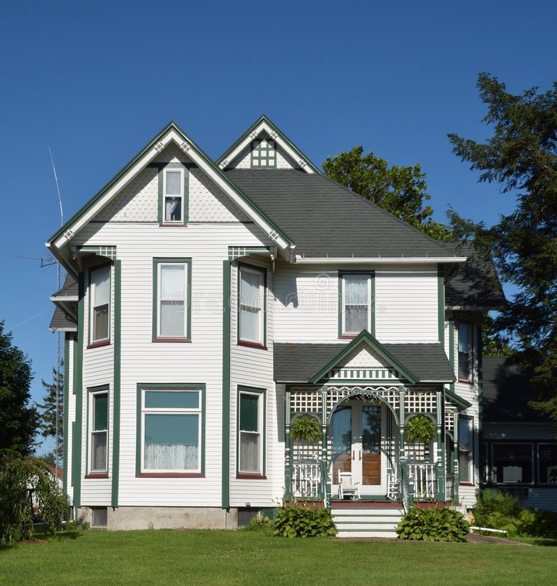 Elmira Victorian House royalty free stock photo