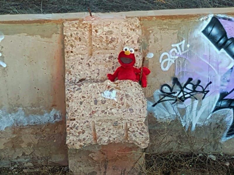 Elmo asustadizo fotos de archivo libres de regalías