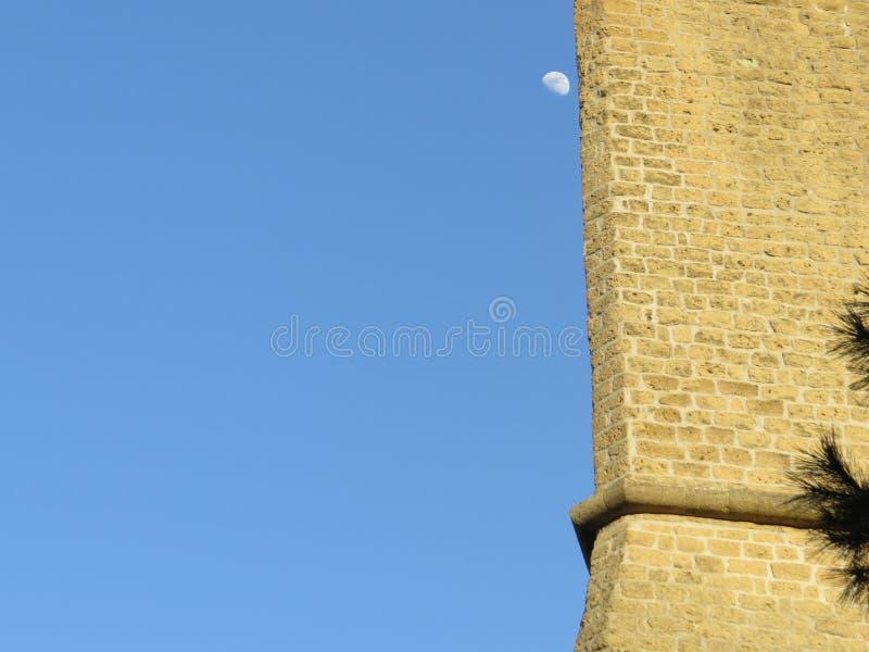 ` Elmo de Castel Sant une forteresse médiévale située sur un sommet près de Certosa di San Martino Naples, Italie images stock