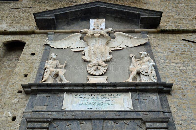 ` Elmo Vomero, Nápoles de Castel Sant fotografía de archivo libre de regalías