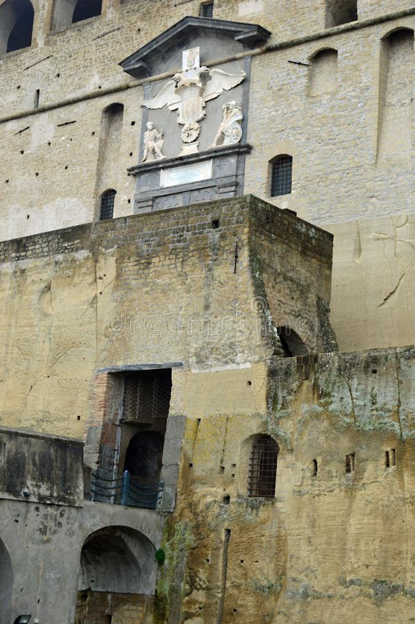 ` Elmo Vomero, Naples de Castel Sant photographie stock