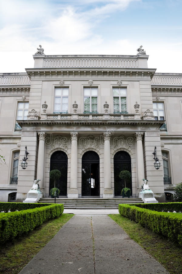 Elms Newport Mansion royalty free stock image
