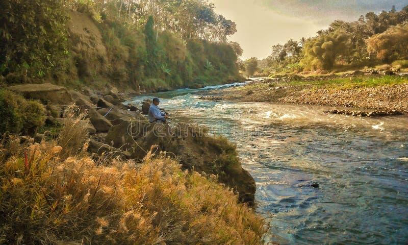 Elo-progo Fluss lizenzfreies stockfoto