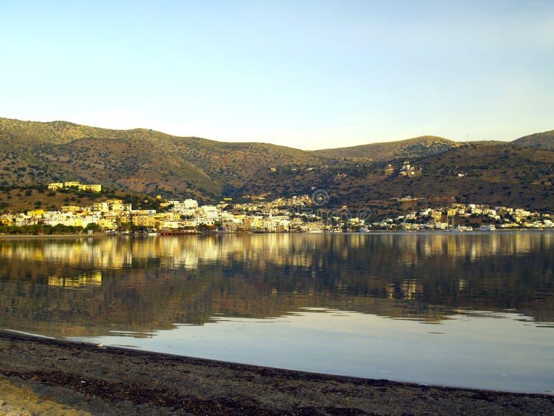 Download Elounda immagine stock. Immagine di villaggio, greco, mediterraneo - 7315421