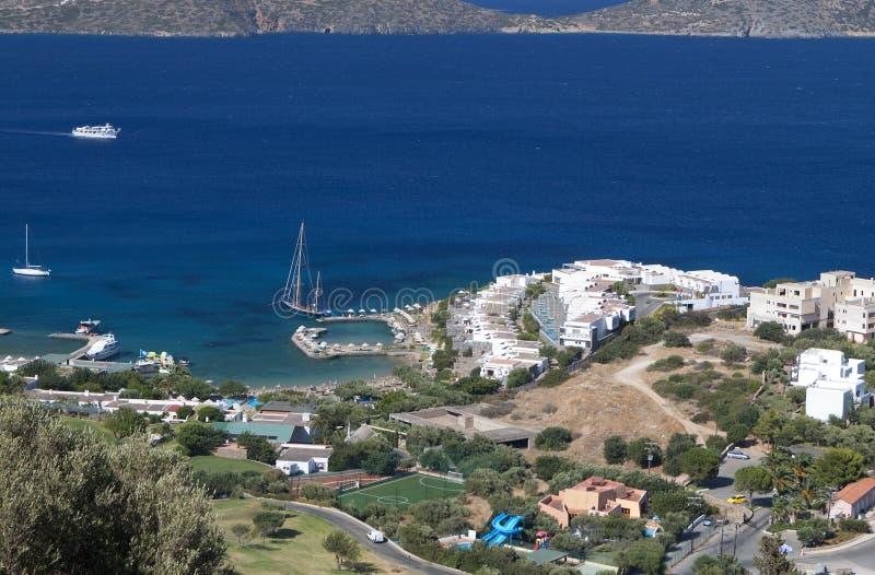 Download Elounda Bay At Crete Island In Greece Stock Image - Image: 27840743