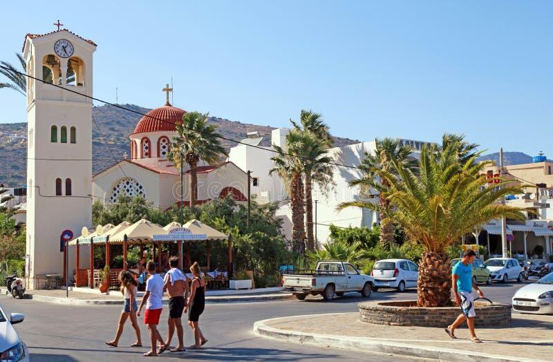 Elounda, Creta, Grecia fotografie stock