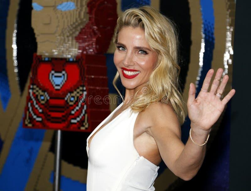 Elsa Pataky royalty-vrije stock foto