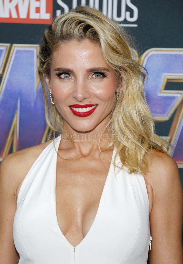 Elsa Pataky. At the World premiere of `Avengers: Endgame` held at the LA Convention Center in Los Angeles, USA on April 22, 2019 royalty free stock image