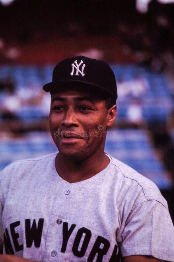 Elston Howard New York Yankees fotos de archivo libres de regalías