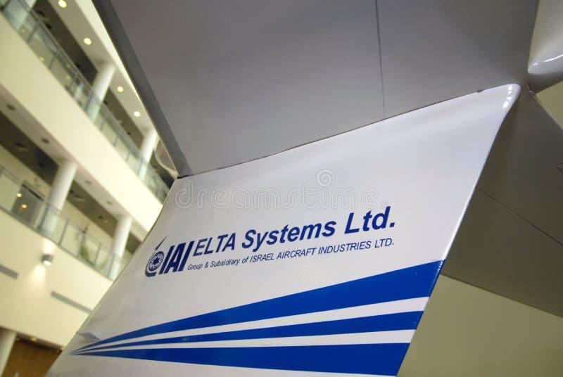 ELTA - Israel Aerospace Industries stock foto