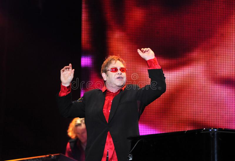 Elton John imagens de stock royalty free