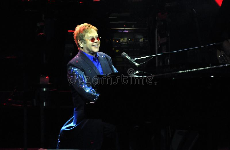 Elton John fotografia stock