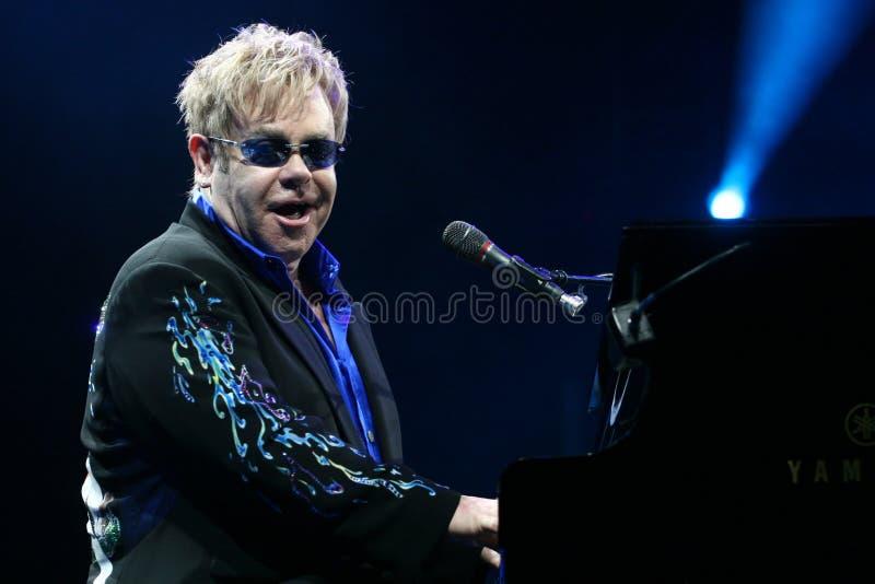 Elton John imagens de stock