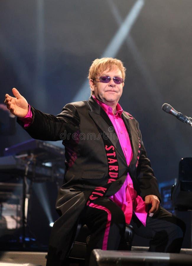Elton John foto de stock