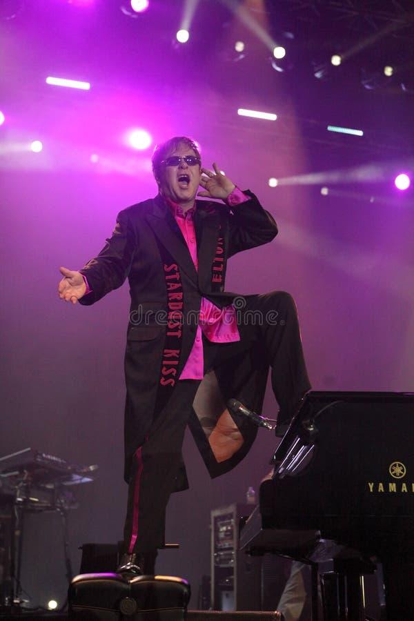 Elton John royalty free stock images