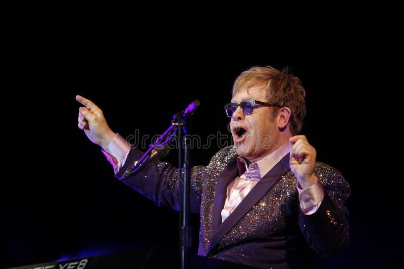 Elton John fotografia royalty free