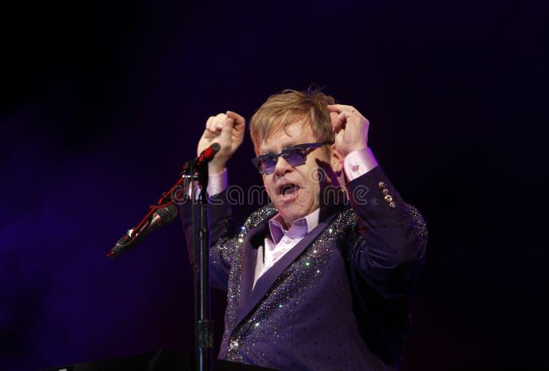 Elton John immagine stock libera da diritti