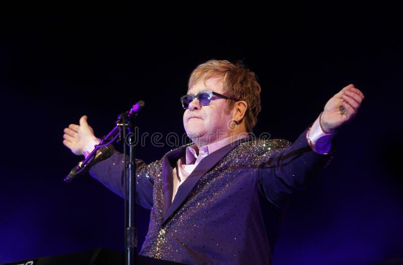 Elton John fotografia stock libera da diritti