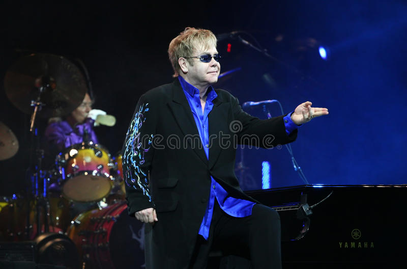 elton John sir obraz royalty free