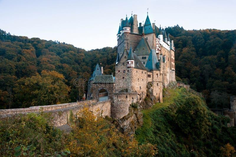Eltz kasztel w Palatinate, Niemcy zdjęcie stock