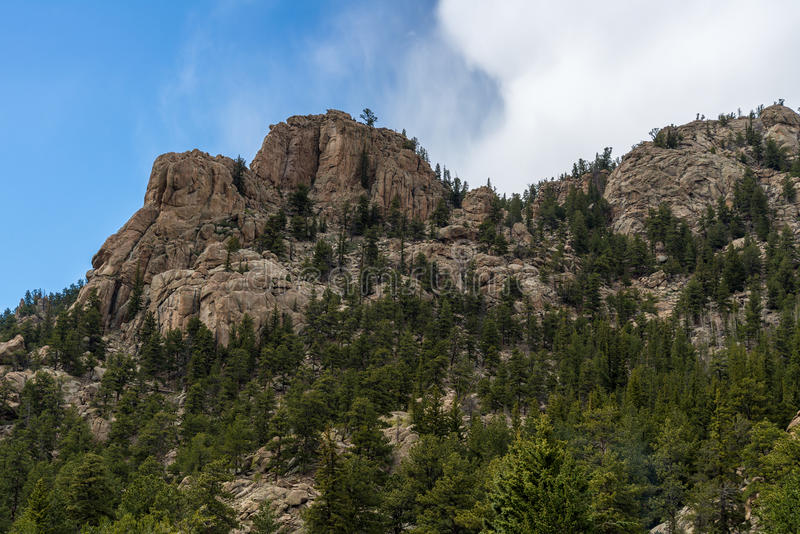 Elva mil kanjon Colorado fotografering för bildbyråer