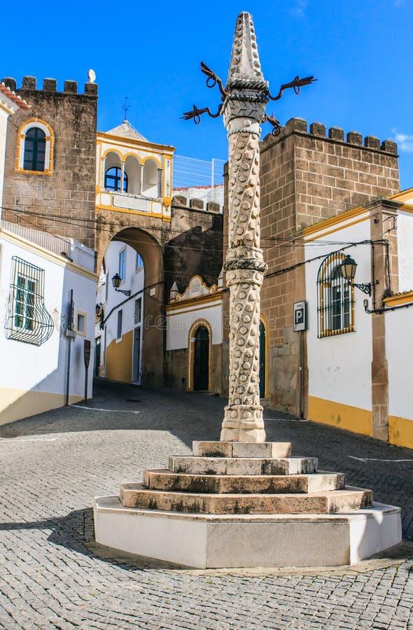 Elvas,阿连特茹,葡萄牙 库存图片