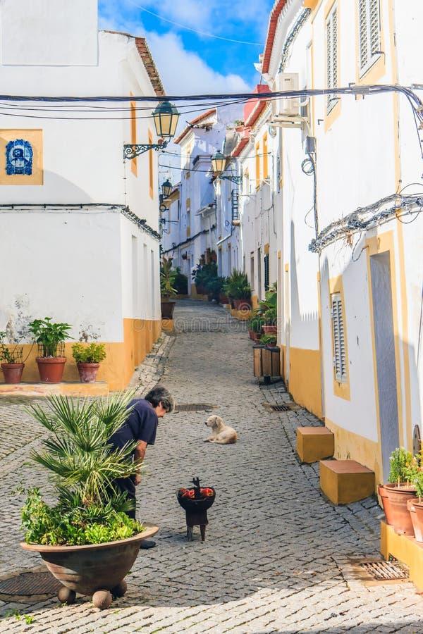 Elvas, Alentejo, Portugalia zdjęcia stock